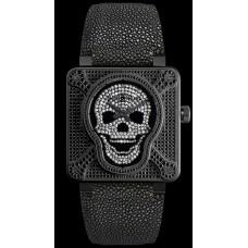 Reloj de pulsera Bell & Ross BR 01 SKULL 672