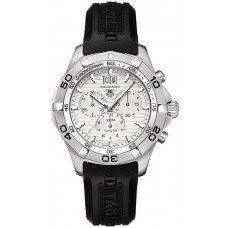Tag Heuer Aquaracer hombres Silver Cronografo