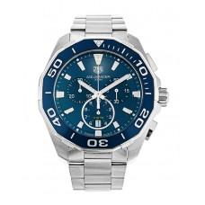 Réplicas Tag Heuer Aquaracer azul Dial Chronograph CAY111B.BA0927