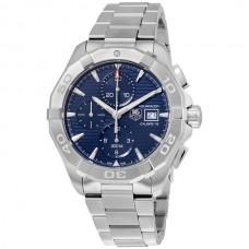 Réplicas Tag Heuer Aquaracer Automatico Chronograph azul Dial CAY2112.BA0927