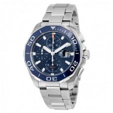 Réplicas Tag Heuer Aquaracer azul Dial Chronograph Automatico CAY211B.BA0927