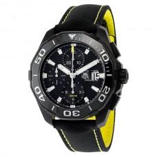Réplicas Tag Heuer Aquaracer Dial Negro Auotomatic CAY218A.FC6361