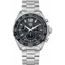 Réplicas Tag Heuer Formula 1 Chronograph Dial Negro CAZ1011.BA0842