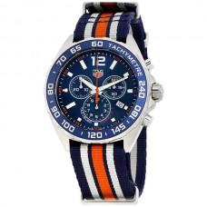 Réplicas Tag Heuer Formula 1 Azul Chronograph CAZ1014.FC8196