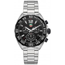 Réplicas Tag Heuer Formula 1 Chronograph Dial Negro CAZ1110.BA0877