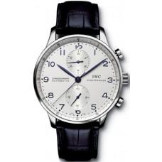 Réplica IWC Portuguese Automático Cronógrafo reloj para hombre IW371417