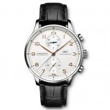 Réplica IWC Portuguese Automático Cronógrafo reloj para hombre IW371445
