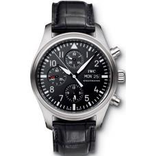 Imitación IWC Clásico Aviador Automático Cronógrafo reloj para hombre IW371701