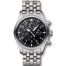 Imitación IWC Clásico Aviador Automático Cronógrafo reloj para hombre IW371704