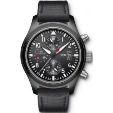 Imitación IWC Aviador Cronógrafo TOP GUN reloj para hombre IW378901