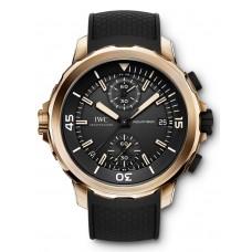 Imitación IWC Aquatimer Cronógrafo Edición ExpEdición Charles Darwin reloj para hombre IW379503
