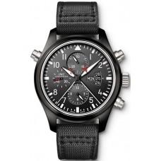 Réplica IWC Aviador Double Cronógrafo TOP GUN reloj para hombre IW379901