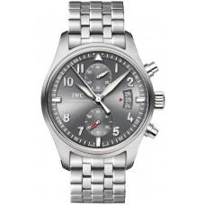 Réplica IWC Aviador Spitfire Cronógrafo reloj para hombre IW387804