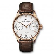 Réplica IWC Portuguese Automático reloj para hombre IW500113