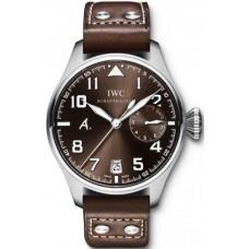 Imitación  IWC Clásico gran Aviador Acero reloj IW500422
