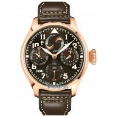 Réplica IWC Gran Reloj de Aviador  Calendario perpetuo Saint Exupery reloj para hombre IW502617