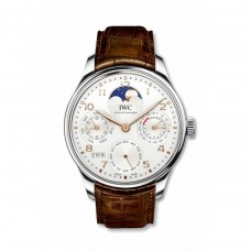 IWC Portugieser Calendario perpetuo Single Moon Stainless Acero/Boutique Shanghai IW503307