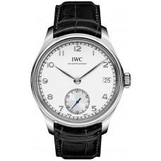 Réplica IWC Portuguese Hand Wound Eight Days reloj para hombre IW510203