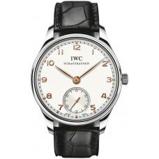 Réplica IWC Portuguese Hand Wound reloj para hombre IW545408