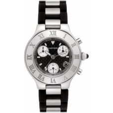 Cartier Must 21 Chronoscaph hombres Reloj W10125U2