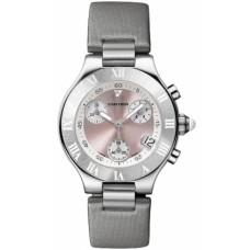 Cartier Must 21 Chronoscaph reloj de senora W1020012