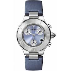 Cartier Must 21 Chronoscaph reloj de senora W1020013