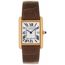 Cartier Tank Louis Cartier hombres Reloj W1529756