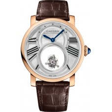 Rotonde de Cartier Mysterious Double Tourbillon reloj W1556230 Replicas