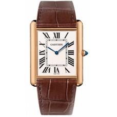 Cartier Tank Louis Cartier hombres Reloj W1560017