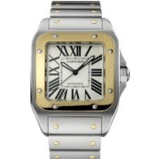 Cartier Santos 100 hombres Reloj W200728G