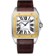 Cartier Santos 100 hombres Reloj W20072X7
