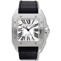 Cartier Santos 100 hombres Reloj W20073X8