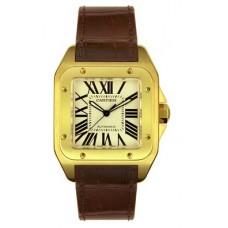 Cartier Santos 100 hombres Reloj W20078Y1