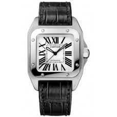 Cartier Santos 100 hombres Reloj W20106X8