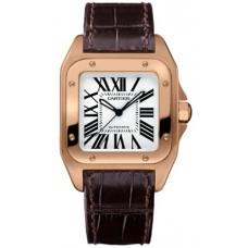 Cartier Santos 100 Reloj W20108Y1