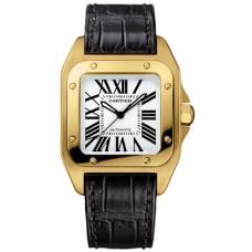 Cartier Santos 100 hombres Reloj W20112Y1