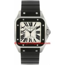 Cartier Santos 100 hombres Reloj W20121U2
