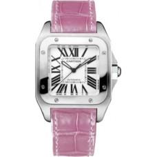 Cartier Santos 100 reloj de senora W20126X8