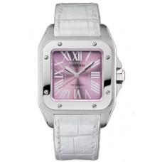 Cartier Santos 100 reloj de senora W20133X8
