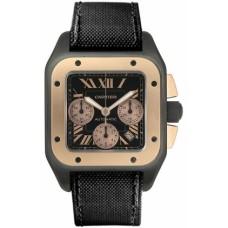 Cartier Santos 100 Chronograph hombres Reloj W2020004
