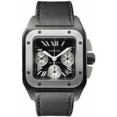 Cartier Santos 100 Chronograph hombres Reloj W2020005
