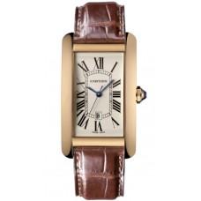 Cartier Tank Americaine hombres Reloj W2609156