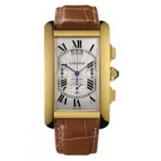 Cartier Tank Americaine hombres Reloj W2609256