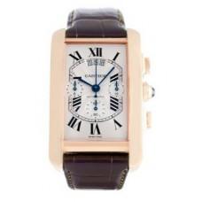Cartier Tank Americaine hombres Reloj W2609356
