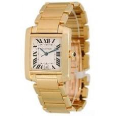 Cartier Tank Francaise hombres Reloj W50001R2