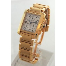 Cartier Tank Francaise hombres Reloj W50005R2