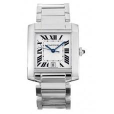 Cartier Tank Francaise hombres Reloj W50011S3