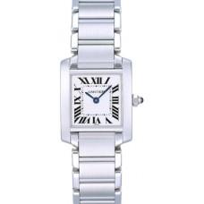Cartier Tank Francaise reloj de senora W50012S3