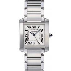 Cartier Tank Francaise hombres Reloj W51002Q3