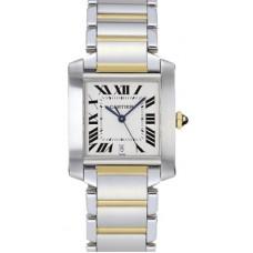 Cartier Tank Francaise hombres Reloj W51005Q4